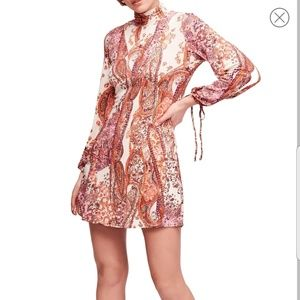 Free People All Dolled Up Minidress